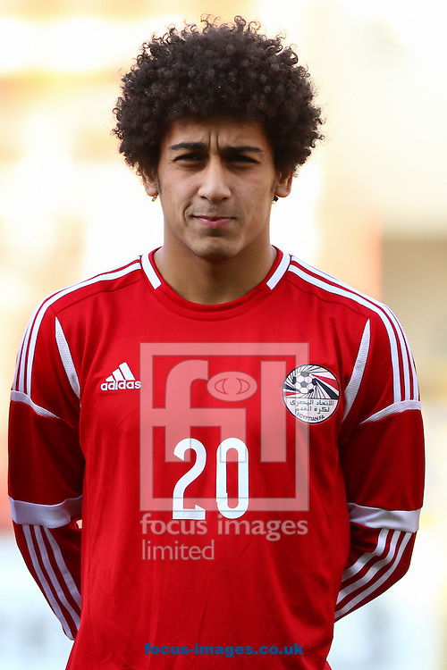 Hussin Elsayed of Egypt before the International Friendly match at the Matchroom Stadium, London<br /> Picture by David Horn/Focus Images Ltd +44 7545 970036<br /> 04/06/2014
