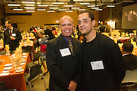 "The Hyde Park Chamber of Commerce held its 76th Annual Dinner and Awards Ceremony Wednesday evening at the Center for Innovation Exchange located at 1452 E. 53rd Street.<br /> <br /> 1981 – Chamber member, Mike Davis and his brother, Billy<br /> <br /> Please 'Like' ""Spencer Bibbs Photography"" on Facebook.<br /> <br /> All rights to this photo are owned by Spencer Bibbs of Spencer Bibbs Photography and may only be used in any way shape or form, whole or in part with written permission by the owner of the photo, Spencer Bibbs.<br /> <br /> For all of your photography needs, please contact Spencer Bibbs at 773-895-4744. I can also be reached in the following ways:<br /> <br /> Website – www.spbdigitalconcepts.photoshelter.com<br /> <br /> Text - Text ""Spencer Bibbs"" to 72727<br /> <br /> Email – spencerbibbsphotography@yahoo.com"