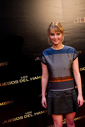 "26.03.2012, Callao cinema, Madrid, ESP, Fototermin Filmpremiere, ""Die Tribute von Panem"" im Bild Jennifer Lawrence // during Madrid premiere of the movie 'The Hunger Games' at the Callao cinema, Madrid, Spain on 2012/03/26. EXPA Pictures © 2012, PhotoCredit: EXPA/ Alterphotos/ Marta Gonzalez..***** ATTENTION - OUT OF ESP and SUI *****"