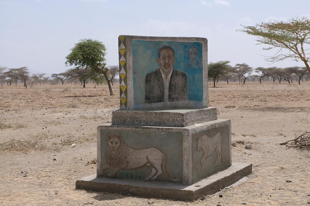Traditional Gravestone, Abiata Shala National Park,Ethiopia,Africa