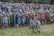 The Normans continue to attack - English Heritage's annual re-enactment of the Battle of Hastings marks the 950th anniversary of the Battle in 1066. The event includes a Cavalry encampment, Norman & Saxon encampments and Medieval traders. It takes place at Battle Abbey on October 15th and 16th.