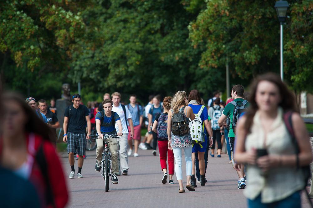 Around campus at Gonzaga University (Photo by Rajah Bose)