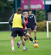 Dundee new boy A-Jay Leitch-Smith during Dundee training at the University Grounds, Riverside, Dundee<br /> <br />  - &copy; David Young - www.davidyoungphoto.co.uk - email: davidyoungphoto@gmail.com