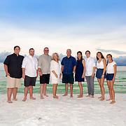 Roach-Basson Families Beach Photos