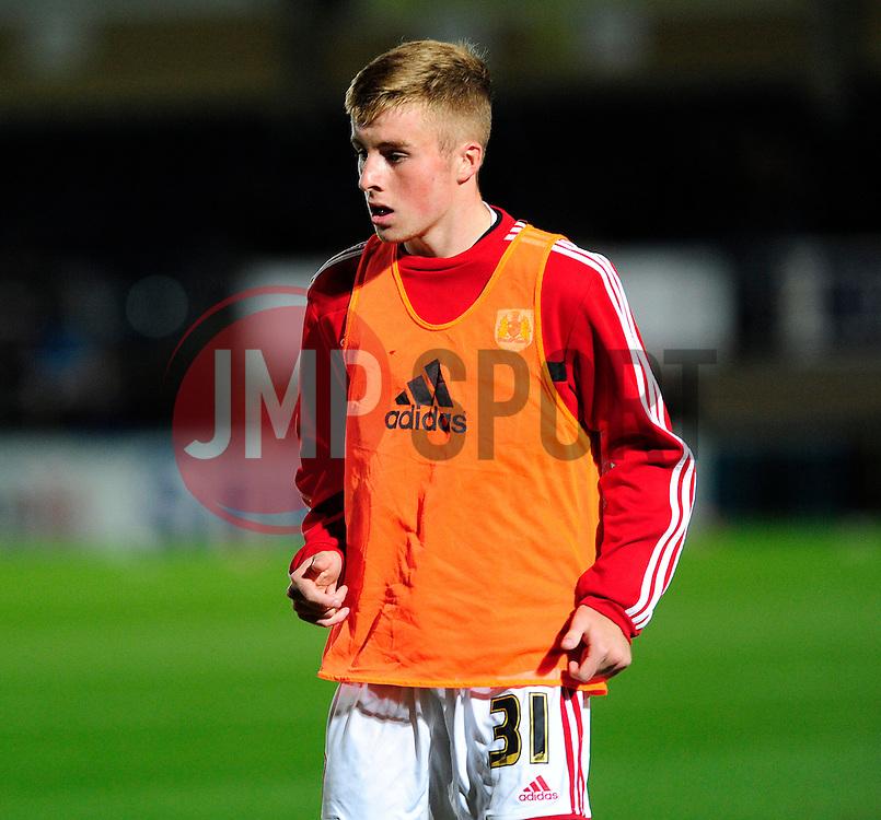 Bristol City's Joe Morrell - Photo mandatory by-line: Joe Dent/JMP - Tel: Mobile: 07966 386802 08/10/2013 - SPORT - FOOTBALL - London Road Stadium - Peterborough - Peterborough United V Brentford - Johnstone Paint Trophy