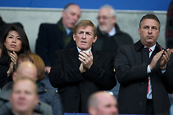 BOLTON, ENGLAND - Sunday, October 31, 2010: Liverpool's former manager Kenny Dalglish before the Premiership match against Bolton Wanderers at the Reebok Stadium. (Pic by: David Rawcliffe/Propaganda)