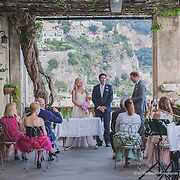 Wedding in Positano, Villa Magia