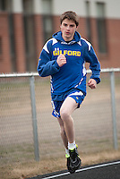 Track meet at Gilford High School April 21, 2011.