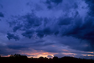 Storm clouds at sunset, Arches National Park, UTAH