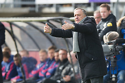 coach Dick Advocaat of Sparta Rotterdam during the Dutch Eredivisie match between Sparta Rotterdam and Ajax Amsterdam at the Sparta stadium Het Kasteel on March 18, 2018 in Rotterdam, The Netherlands