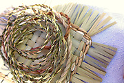 iris twine and cattail mat weaving TEK