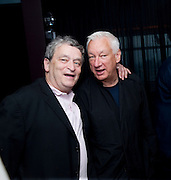 NORMAN ROSENTHAL; MICHAEL CRAIG-MARTIN;  Dinner hosted by Julia Peyton-Jones and Hans Obrist for the Council of the Serpentine to celebrate: Jeff Koons, Popeye Series. Paramount Club, Paramount Centre Point. London. 30 June 2009