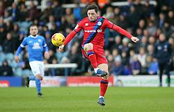 Ian Henderson of Rochdale - Mandatory by-line: Joe Dent/JMP - 25/02/2017 - FOOTBALL - ABAX Stadium - Peterborough, England - Peterborough United v Rochdale - Sky Bet League One