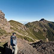 Yushan Main Peak from South Peak