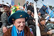 2013/03/23 Roma, manifestazione del PDL Popolo della Liberta'. Nella foto alcuni manifestanti.<br /> Rome, Popolo della Liberta' (reading The Peolple of Freedom Party) demo. In the picture some supporters  - &copy; PIERPAOLO SCAVUZZO