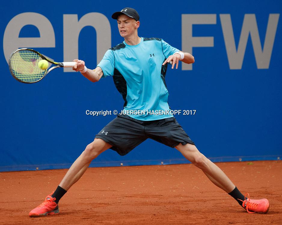 Jakob Cadonau, Rudi-Berger-Cup, Junioren Turnier<br /> <br /> Tennis - BMW Open 2017 -  ATP  -  MTTC Iphitos - Munich -  - Germany  - 7 May 2017.