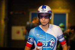 KONOVALOVAS Ignatas (LTU) of FDJ (FRA) before the start at velodrome Omnisport, stage 1 (ITT) from Apeldoorn to Apeldoorn running 9,8 km of the 99th Giro d'Italia (UCI WorldTour), The Netherlands, 6 May 2016. Photo by Pim Nijland / PelotonPhotos.com | All photos usage must carry mandatory copyright credit ( Peloton Photos | Pim Nijland)
