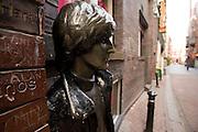 John Lennon statue, Liverpool, England