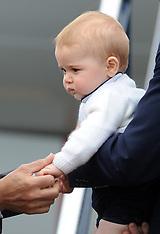 Wellington-Royal Visit, Duke and Duchess depart for Australia