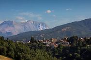 Amatrice, Italia - Veduta di Amatrice, uno dei centri pi&ugrave; colpiti dal terremoto.<br /> Ph. Roberto Salomone