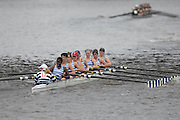 Boston, USA, Club Women's eights, Riverside BC,  Eliot Bridge,   Head of the Charles, Race Charles River,  Cambridge,  Massachusetts. Saturday  20/10/2007 [Mandatory Credit Peter Spurrier/Intersport Images]...... , Rowing Course; Charles River. Boston. USA