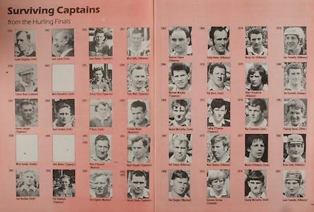 All Ireland Senior Hurling Championship - Final,.02.09.1984, 09.02.1984, 2nd September 1984,.02091984AISHCF,.Cork 3-16, Offaly 1-12,.Senior Cork v Offaly, .Minor Kilkenny v Limerick,..surviving captains,