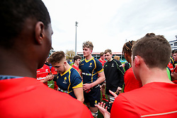 Wasps U18 are clapped off by Saracens U18 after winning the match - Rogan Thomson/JMP - 16/02/2017 - RUGBY UNION - Sixways Stadium - Worcester, England - Worcester Warriors U18 v Saracens U18 - Premiership Rugby Under 18 Academy Finals Day 5th Place Play-Off.