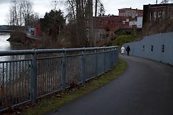 Snohomish River Trail, Snohomish, Washington, US