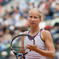 31 May 2007: Jill Craybas of United States of America is seen during the Women's Singles 2nd round match on day five of the French Open at Roland Garros in Paris, France.