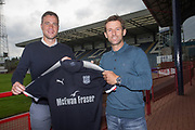 New Dundee FC assistant manager Graham Gartland pictured with manager Neil McCann at Dens Park, Dundee, Photo: David Young<br /> <br />  - &copy; David Young - www.davidyoungphoto.co.uk - email: davidyoungphoto@gmail.com