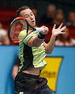 PHILIPP KOHLSCHREIBER (GER) Vorhand,action, Aktion, Einzelbild, Ganzkoerper, Halbkoerper, <br /> <br /> Tennis - ERSTE BANK OPEN 2017 - ATP 500 -  Stadthalle - Wien -  - Oesterreich  - 27 October 2017. <br /> © Juergen Hasenkopf