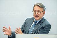 24 APR 2017, BERLIN/GERMANY:<br /> Dr. Georg Nuesslein, MdB, CSU, Stellv. Fraktionsvorsitzender der CDU/CSU-BT-Fraktion, 9. Energiepolitischer Dialog der CDU/CSU-Fraktion im Deutschen Bundestag &quot;Spannungsfeld Energiewende - Die Energiewende wirtschaftlich gestalten&quot;, Fraktionssitzungssaal, Deutscher Bundestag<br /> IMAGE: 20170424-01-181<br /> KEYWORDS: Georg N&uuml;&szlig;lein