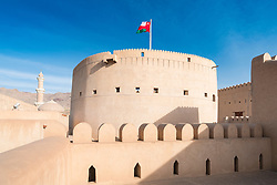 View of Nizwa Fort in Nizwa Oman