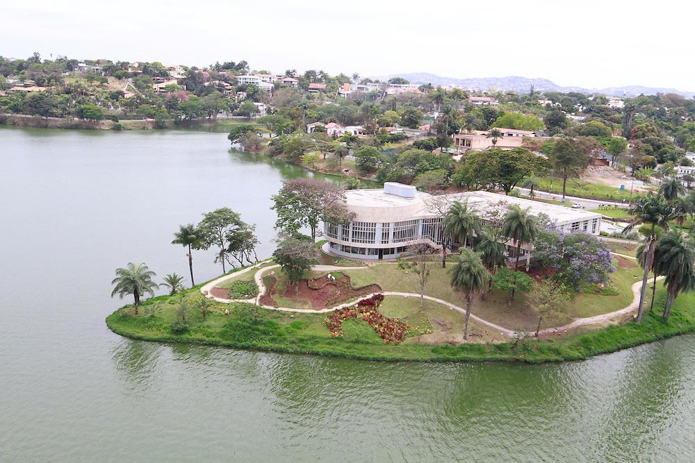 Belo Horizonte_MG, Brasil.<br /> <br /> Museu de Arte da Pampulha projetado por Oscar Niemeyer, faz parte do conjunto arquitetonico da Pampulha em Belo Horizonte, Minas Gerais.<br /> <br /> Pampulha Art Museum designed by Oscar Niemeyer, is part of the architectonic complex of Pampulha in Belo Horizonte, Minas Gerais.<br /> <br /> Foto: HUGO CORDEIRO / NITRO