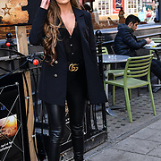 Love Island's Georgia Steel attend Celebs On The Ranch photocall at Jerusalem Bar & Kitchen, on 1st April 2019, London, UK.