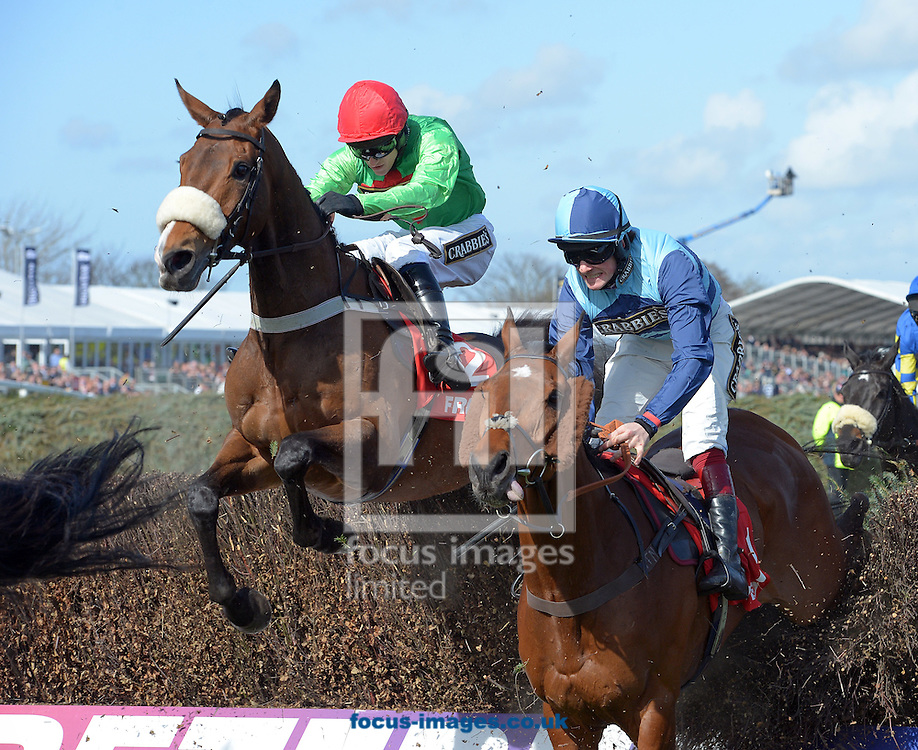 A preview of this weekend's favourites in UK Racing.<br /> Picture by Martin Lynch/Focus Images Ltd 07501333150<br /> 09/12/2016<br /> <br /> Original caption:<br /> Left is BUYWISE right is WONDERFUL CHARM at Aintree 11-4-15.