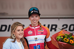 Lorena Wiebes (NED) is the stage winner at Boels Ladies Tour 2019 - Stage 1, a 123 km road race from Stramproy to Weert, Netherlands on September 4, 2019. Photo by Sean Robinson/velofocus.com
