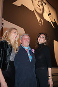 JERRY HALL; MARIE HELVIN; DAVID BAILEY, Opening of Bailey's Stardust - Exhibition - National Portrait Gallery London. 3 February 2014