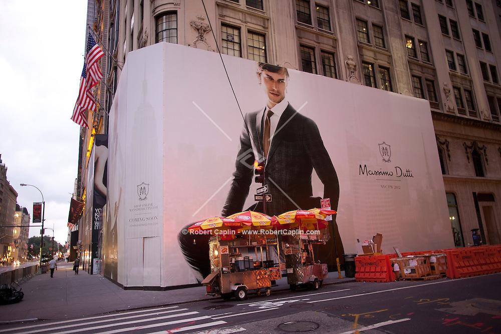 Massimo Dutti Fifth Avenue New York City.. Photo by Robert Caplin