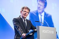 23 NOV 2018, BERLIN/GERMANY:<br /> Richard Lutz, Vorstandsvorsitzender Deutsche Bahn, Deutscher Arbeitgebertag 2018, Vereinigung Deutscher Arbeitgeber, BDA, Estrell Convention Center<br /> IMAGE: 20181123-01-275