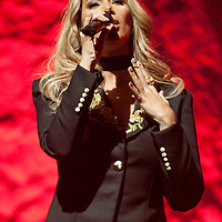 Leona Lewis at The Clyde Auditorium, Glasgow, Britain 8th March 2016