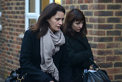 © Licensed to London News Pictures.28/11/2013. London, UK.Elisabetta (left) and Francesca (right) Grillo arrive at Isleworth Crown Court in London. The Italian sisters face fraud charges, are accused of misappropriating funds while working for Charles Saatchi and Nigella Lawson.Photo credit : Peter Kollanyi/LNP