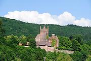 Mittelburg, Neckarsteinach, Baden-Württemberg, Deutschland | Mittelburg, Neckar, Baden-Wurttemberg, Germany