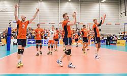 25-09-2016 NED: EK Kwalificatie Nederland - Turkije, Koog aan de Zaan<br /> Nederland plaatst zich voor het EK in Polen door Turkije met 3-1 te verslaan / Nederland viert zijn feestje