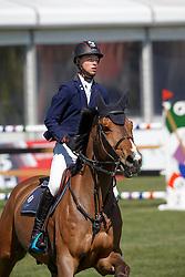 Jochems Kevin, (NED), Flugel van't Palmenhof<br /> Nederlands kampioenschap springen - Mierlo 2016<br /> © Hippo Foto - Dirk Caremans<br /> 21/04/16