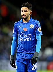Riyad Mahrez of Leicester City - Mandatory by-line: Robbie Stephenson/JMP - 06/11/2016 - FOOTBALL - King Power Stadium - Leicester, England - Leicester City v West Bromwich Albion - Premier League