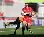 Scarlets Hadleigh Parkes<br /> <br /> Photographer Mike Jones/Replay Images<br /> <br /> Guinness PRO14 Round 22 - Scarlets v Cheetahs - Saturday 5th May 2018 - Parc Y Scarlets - Llanelli<br /> <br /> World Copyright © Replay Images . All rights reserved. info@replayimages.co.uk - http://replayimages.co.uk