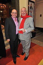 Left to right, NEIL SINCLAIR and CHRISTOPHER BIGGINS arrive at the press night of the new Andrew Lloyd Webber  musical 'The Wizard of Oz' at The London Palladium, Argylle Street, London on 1st March 2011 followed by an aftershow party at One Marylebone, London NW1