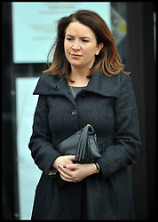 File photo - The Duchess' private secretary Rebecca Deacon. <br /> The Duke and Duchess of Cambridge will not be hiring a nanny to help them with looking after their newborn son but instead will have members of staff such as Rebecca Deacon to assist. <br /> The Duchess of Cambridge gave birth to her newborn son at St.Mary's hospital in London on Monday, 22nd July, 2013.<br /> Tuesday, 23rd July 2013<br /> Picture by Andrew Parsons / i-Images<br /> <br /> Rebecca Deacon, Private Secretary to Catherine, on a visit with the Duchess to Grimsby, UK,  March 2013. Photo By Andrew Parsons / i-Images
