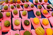 Of the many symbols associated with Sukkot the most important are the Four Species. Etrog - The fruit of the goodly tree, also known as the citron. Palm branch - know as the lulav. Myrtle - the hadas and Willow - the aravah